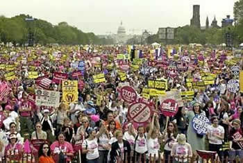 March for Women's Lives, 2004