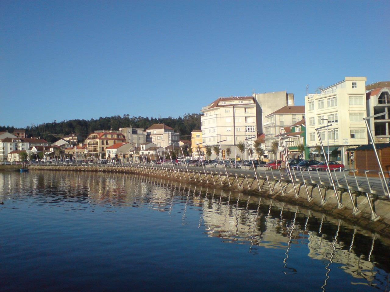 Camariñas, Galicia, Spain.  My great-grandfather's hometown.  Photo by Juan Freire, 2006.  Wikimedia Commons.