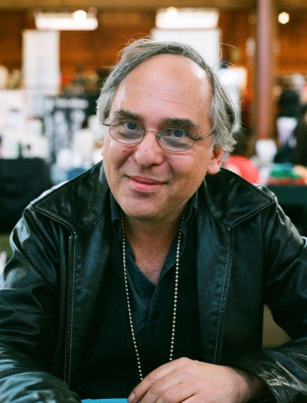 Photo of Art Spiegelman, 2007. Photo by Chris Anthony Diaz, April 30, 2007. Wikimedia Commons.