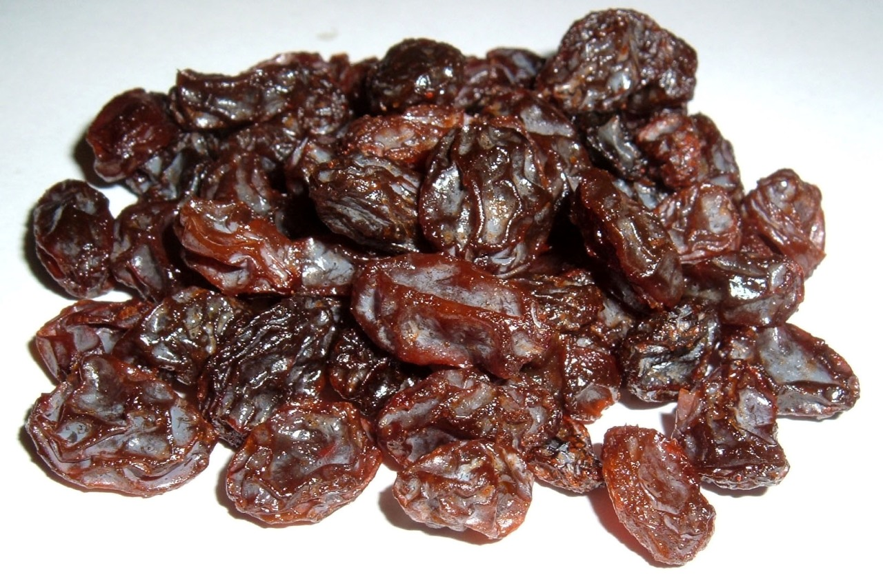 Raisins, photo courtesy of Wikimedia Commons