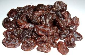 Raisins, photo courtesy of Wikimedia Commons