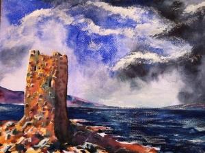 Grace O'Malley's Castle by Thomas Sheridan, 2007