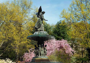 Angel of the Waters, Bethesda Fountain