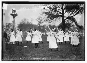 Deaf School Children, dancing