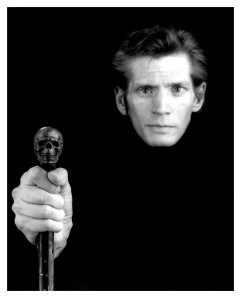 Robert Mapplethorpe, Self Portrait, 1988. As seen in Hide/Seek at the National  Portrait Gallery.