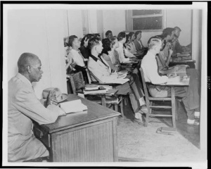 George W. McLaurin, 1948. Gelatin silver print. Visual Materials from the NAACP Records, Prints and Photographs Division, Library of Congress (47) Digital ID# cph 3c16927 Courtesy of the NAACP.