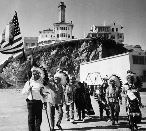 Alcatraz, The Birthplace of the Native American Red Power Movement ...