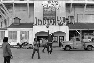 Native Americans and the Annexation of Alcatraz, 1969, courtesy of Civil Rights in the 1960s