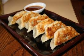 Gyoza: the best Japanese food ever.