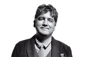 Author Sherman Alexie.